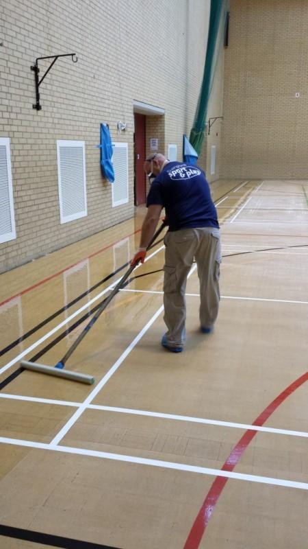 Sport Floor Refurbishment