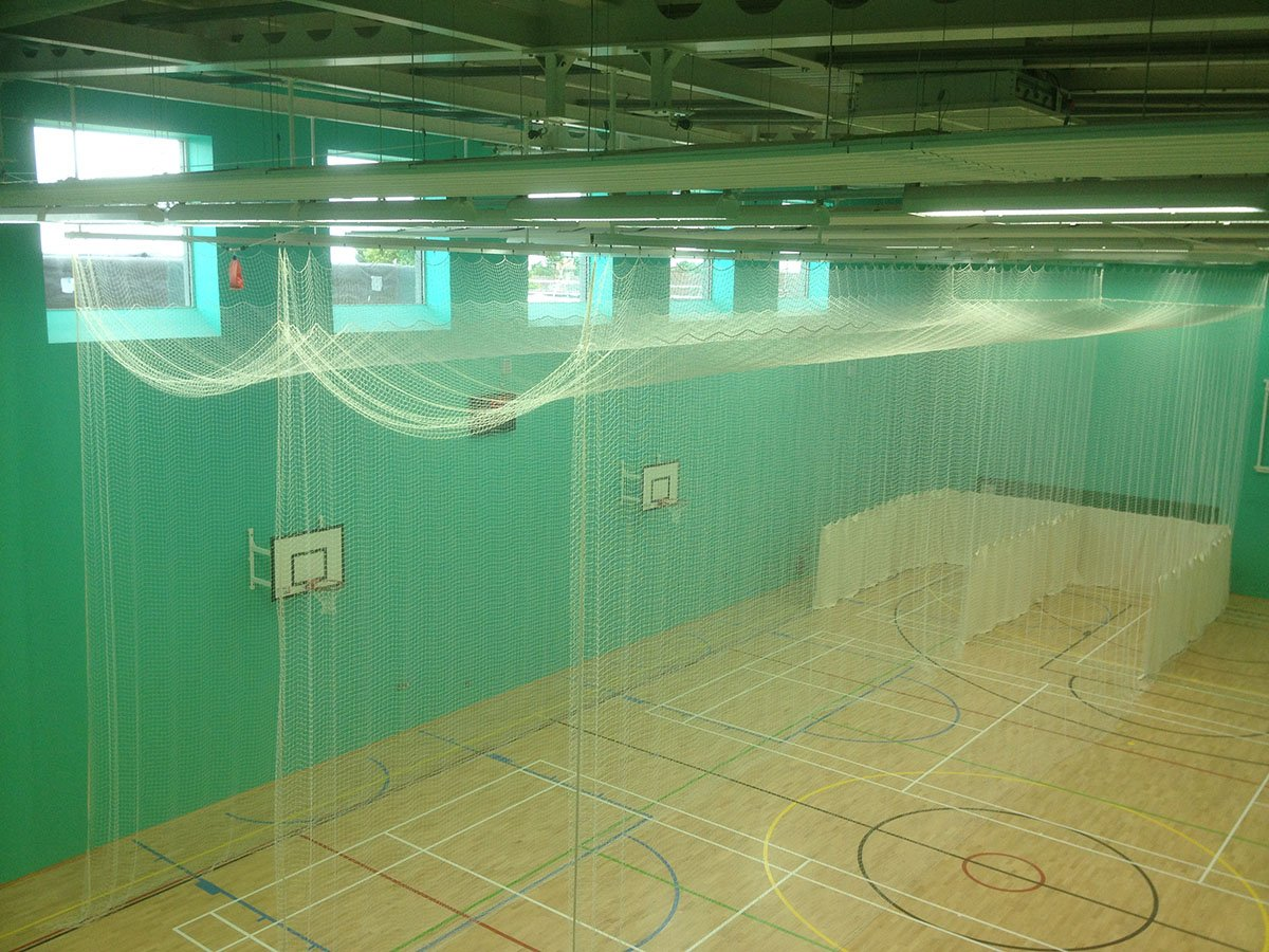 Sports Hall Netting & Cricket Nets